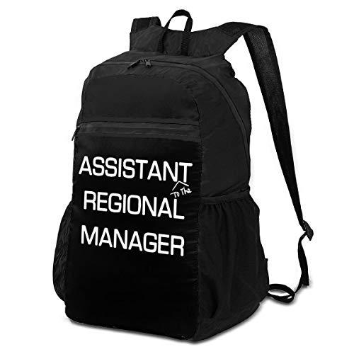 Xiongone Assistant (To The) Regional Manager, Unisex, ultraleicht, wasserabweisend, faltbar, verstaubar, Reiserucksack, Wanderrucksack, Tagesrucksack