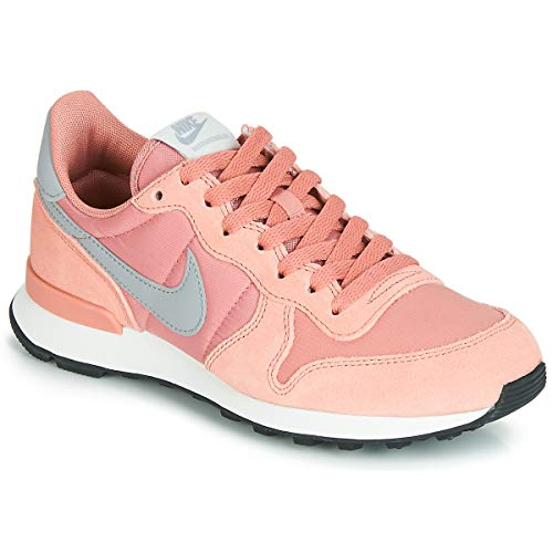 Nike Damen WMNS Internationalist Leichtathletikschuhe, Mehrfarbig (Rose Gold/Wolf Grey/Summit White/Black 615), 37.5 EU
