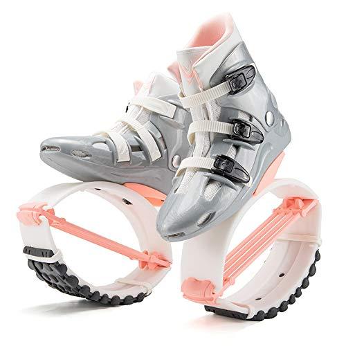 Trzecia generacja ulepszona wersja wiosennych butów do skakania elastyczne buty łatwe do skakania kosmos skaczące buty różowe XXL-42/44 jardów 4T