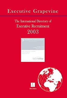 International Directory of Executive Recruitment Consultants: 2003