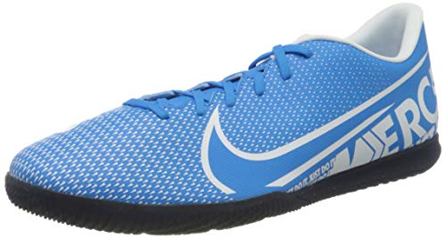 Nike Unisex Vapor 13 Club Ic Fußballschuhe, Mehrfarbig (Blue Hero/White/Obsidian 414), 47 EU