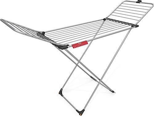 Vileda Aluminium Tendedero X-Legs de Aluminio, Blanco, 131.5x4x55.5 cm