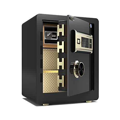 SZ JIAOJIAO Tresore45CM sicher, Ganzstahl der Schlafzimmer Fingerabdruck Passwort sicher, Safe, EIN eigener Aktenschrank (Passwort/Fingerabdruck),b,Fingerprint