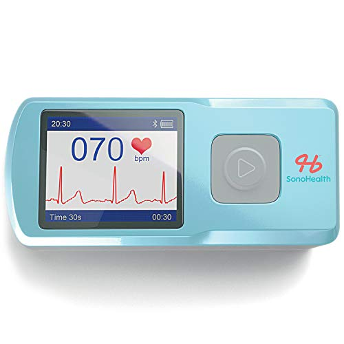 Image of SonoHealth Portable EKG...: Bestviewsreviews