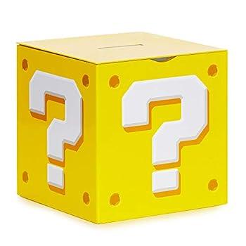 Paladone Nintendo Super Mario Bros Question Block - Money Box Coin Bank