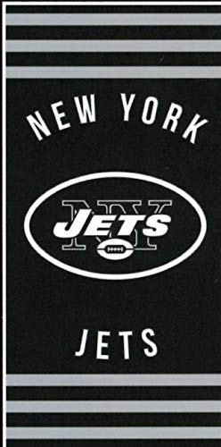 New York Jets NFL Team Bed Rest Pillow (20x12 )