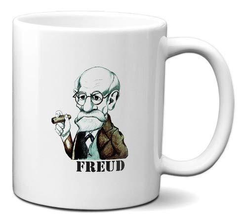 Caneca Sigmund Freud Psicanálise Psicologia Caricatura