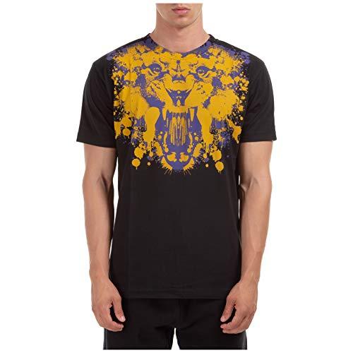 MARCELO BURLON Tiger t-Shirt Uomo Nero S