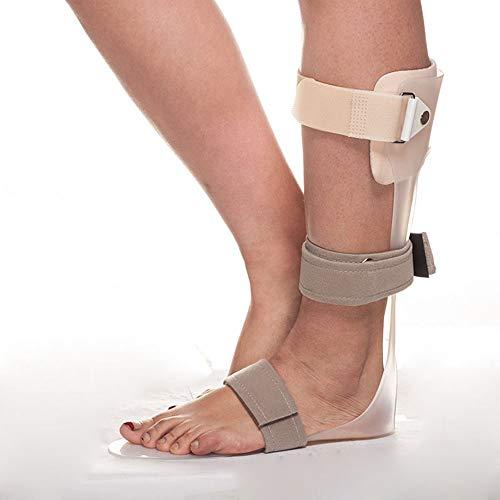 GHzzY Órtesis de caída del pie - Férula ortopédica AFO - Tobillera para el Tratamiento de la Fascitis Plantar Tendinitis de Aquiles y caída del pie,Left,S