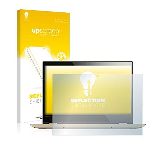 upscreen Entspiegelungs-Schutzfolie kompatibel mit Lenovo Yoga 520 14.0 – Anti-Reflex Bildschirmschutz-Folie Matt