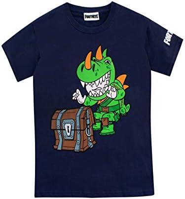 Fortnite Camiseta Manga Corta para Niños Gráfica