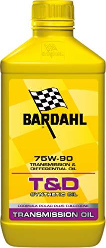 Bardahl 425140 T&D Synthetic Oil 75W90 Lubrificanti Olio Trasimissioni Differenziali Ingranaggi Cambio 1 LT, MUTLICOLORE