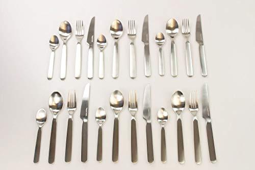 TUPPERWARE Chef Besteck Löffel (6) + Gabel (6) + Messer (6) + kleiner Löffel (6)