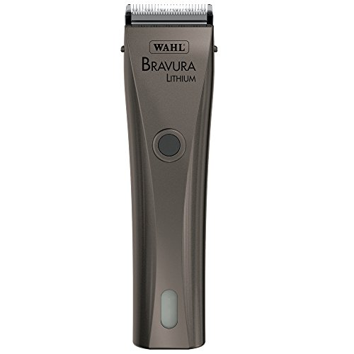 Wahl Professional Animal Bravura Pet, Dog, Cat, and Horse Corded / Cordless Clipper Kit, Gunmetal...