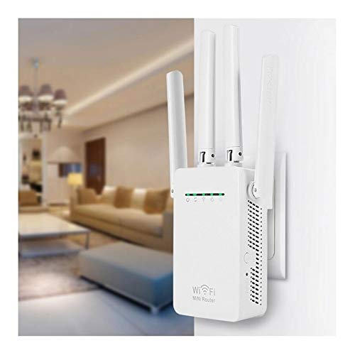 DCC 300Mbps WiFi Router WiFi Repetidor Booster Extender Home Network 802.11b / g/n RJ45 2 Puertos wilreless-N Wi-Fi