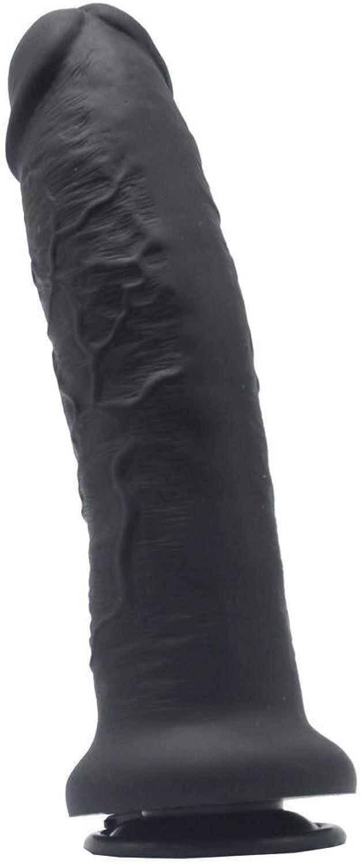 encuentra tu favorito aquí AIWO-ZX ZYXXZ Enormes y Grandes Palos Ultra Suaves Suaves Suaves for el Juego con Manos Libres for Mujeres, sensación Suave y Saludable de la Piel con sensación de pene simulado - Negro  el mejor servicio post-venta