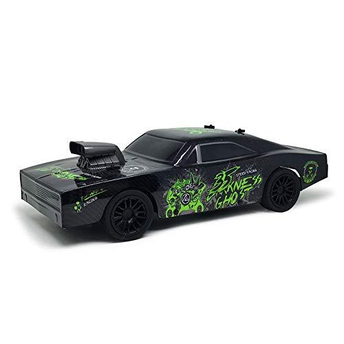 Poooc Fernbedienung Racing Cars, 10.01 Vier-Räder-Laufwerk Drift Sport Vehicle 2,4 GHz High-Speed-Off-Road-Fahrzeuge Exquisite Simulierte Auto-Modell-Dekoration Spielzeug aus Plastik mit USB Charging