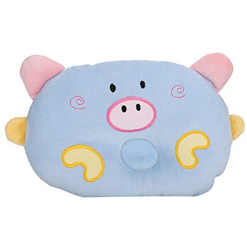 LIKJ Almohada para Perros, Almohada para Mascotas Almohadas Encantadoras para Dormir para Perros Durables para Mascotas para Proteger la Columna Cervical(Blue)