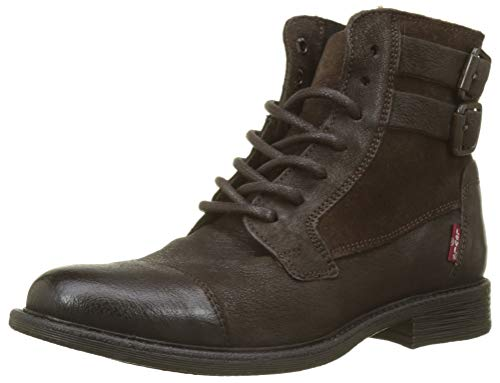 Levi's Damen Maine W Biker Boots, Braun (Dark Brown 29), 36 EU