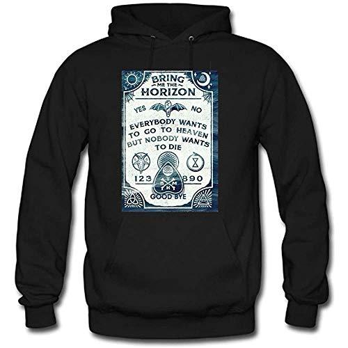 Bring Me The Horizon Custom Men's Hoody Hoodie Hooded Sweatshirt (Black)