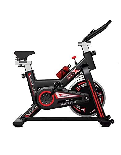 LAZY SPORTS Bicicleta Estatica Spinning, Bici Spinning, Bicicleta Profesional para Uso domestico con Monitor Calidad Profesional (Negro).