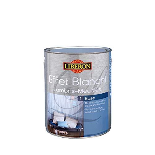 LIBERON Base pour effet blanchi sur meuble et lambris, Petit gris, 1L