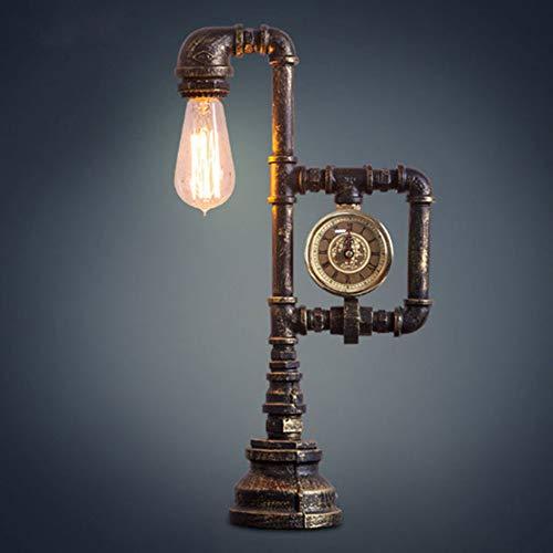 Shuhong bureaulamp nachtlampje retro creatief tafelkleed bedside Reading Nordic Office Home Study werkdecoratiegeschenk (zonder gloeilamp)