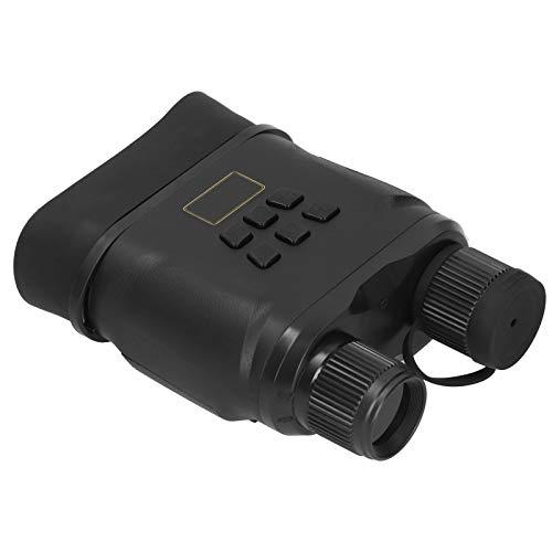 Qqmora Gafas de visión Nocturna por Infrarrojos duraderas Dispositivo de visión Nocturna Binocular de visión Nocturna portátil para Acampar, Explorar