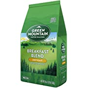 Green Mountain Coffee Roasters Breakfast Blend, Whole Bean Coffee, Light Roast, Bagged 18 oz