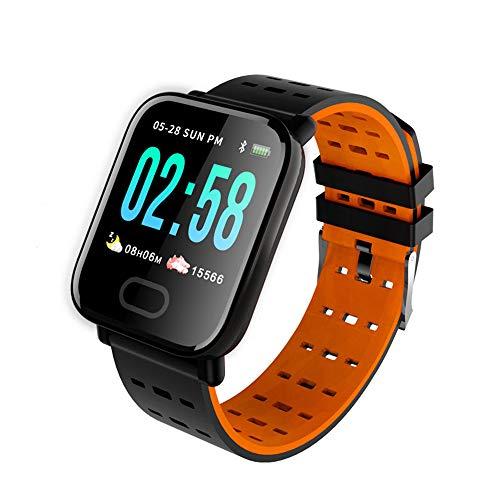 YyiHan Fitness Armband mit Pulsmesser, Smart sportuhr Fitness Tracker Bluetooth Armband herzfrequenz blutdrucküberwachung wasserdicht laufzähler