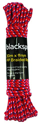 Blackspur 9mm Braided Rope x 30 mtrs (Colours May Vary)