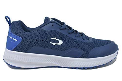 JOHN SMITH RUMIN 21V, Zapatillas de Running Hombre, Azul Marino/Azul Real, 44 EU