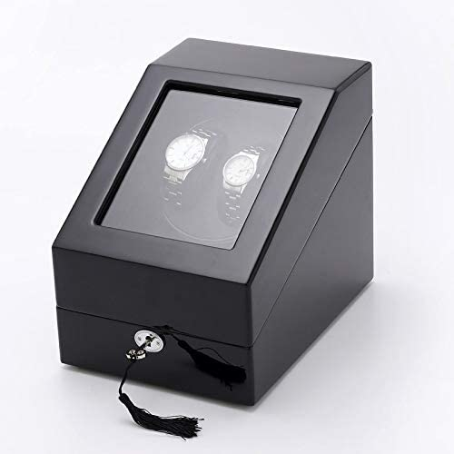 whdz Watch Winder Box Storage Woode Battery Silent Case Max 80% OFF Atlanta Mall Operated
