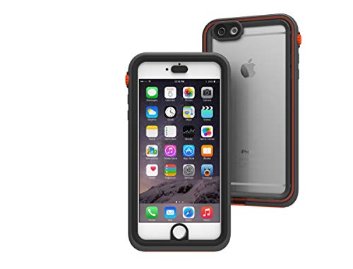 Waterproof case for iPhone 6 Plus, Shock Proof, Drop Proof by Catalyst for iPhone 6+ with High Touch Sensitivity ID (Rescue Ranger)