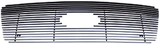 MaxMate Fits 04-08 Ford F-150 (Logo Show, Original Shell has to be Honeycomb) Bolton Upper 1PC Horizontal Billet Polished Aluminum Grille Grill Insert