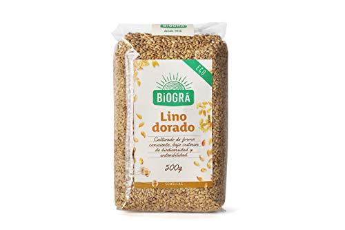 Biográ - Semillas Ecológicas de Lino Dorado (500 g)