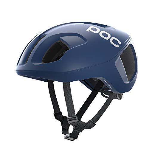 POC, Ventral Spin, Cycling Helmet, Medium, Lead Blue Matte