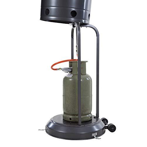 Outtrade Gas Heizung, Grau, 221 cm - 3
