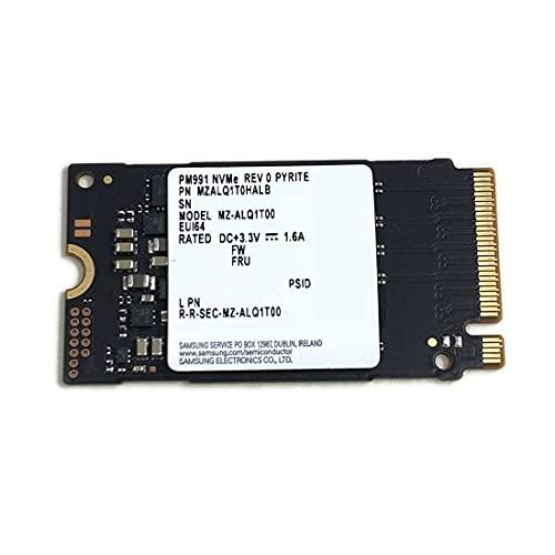 Samsung SSD 1TB PM991 M.2 2242 42mm NVMe PCIe Gen3 x4 MZALQ1T0HALB MZ-ALQ1T00 Solid State Drive für Laptop Desktop Ultrabook