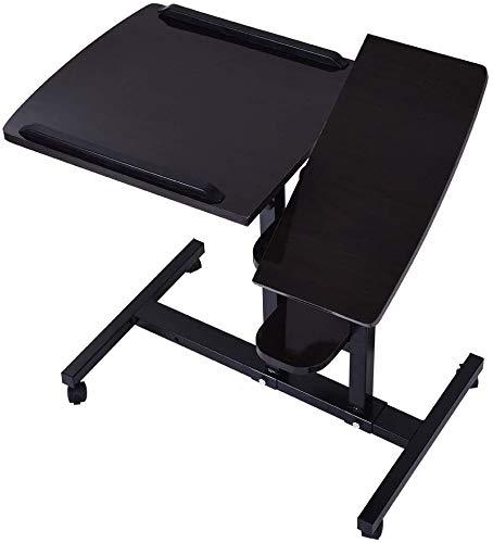 Home Office Desk Can Be Raised and Lowered Folding Table Office Desk Workstation Furniture Computer Desk,Household Desktop Computer Desk PC Laptop Study