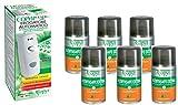 COPYR | Kenyasafe Extra e Copyrmatic Combi: Insetticida Pronto all'Uso Contro Insetti Volanti, Mosche e zanzare - bombola 250 ml x 6 Pezzi + Erogatore Automatico