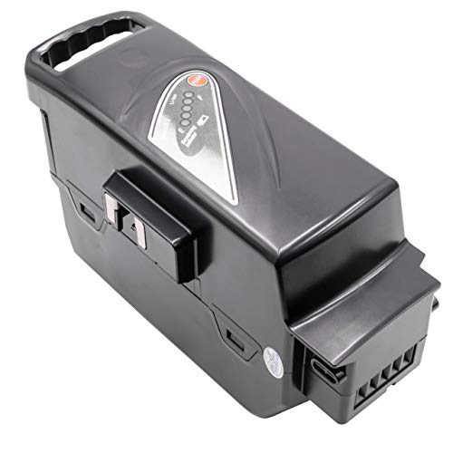 INTENSILO Akku passend für Panasonic Flyer-C-Serie, Flyer-L-Serie, Flyer-S-Serie, Flyer-Serie E-Bike Elektrofahrrad (23200mAh, 26V, Li-Ion, Silber)