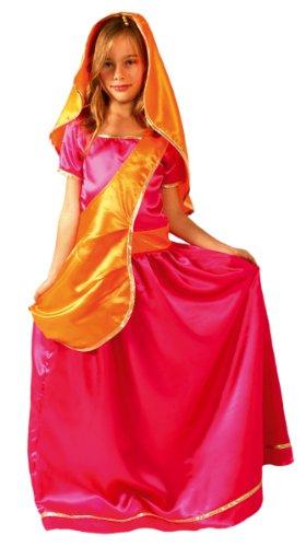 César - Disfraz de bollywood para niña, talla 8-10 años (F233-003)