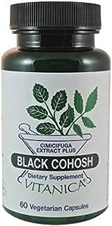 Vitanica - Black Cohosh, Menopause Support, Vegan, 60 Capsules