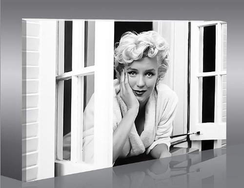 islandburner Cuadro en Lienzo Marilyn Monroe V9-1 Impresión sobre Lienzo - Formato Grande - Cuadros Modernos
