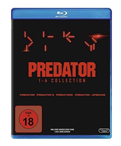 Predator 1-4 - Box [Blu-ray]