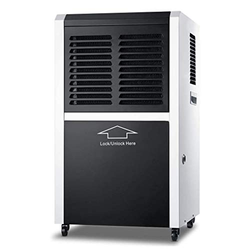New HWZQHJY Dehumidifier, Portable Industrial Commercial Basement Dehumidifier for Home Garage, Larg...