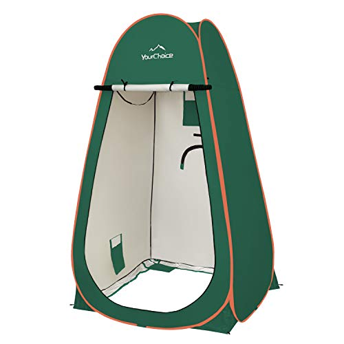 Your Choice Oversized 6.89FT Pop Up Privacy Tent - Camping Shower Changing...