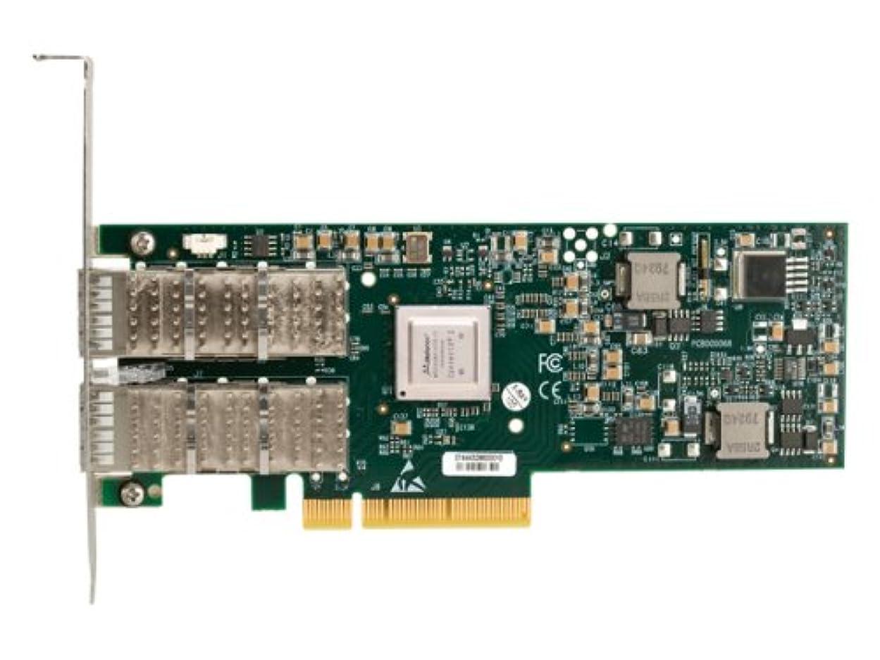 実行する霧深いドアミラーCompaq 4?x InfiniBand connectx-2?pci-ex8カード592520-b21新しい