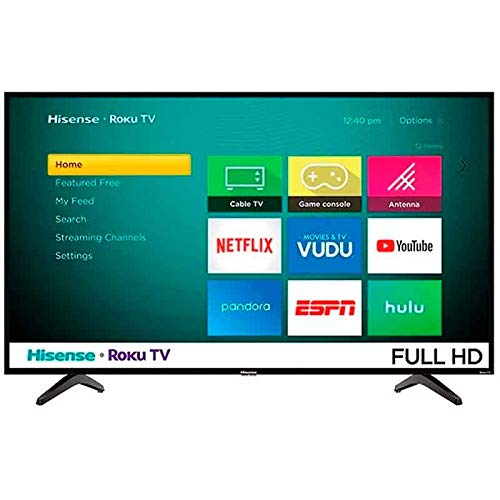 Tv Hisense 43' Full HD Smart Roku 43H4030F Renewed